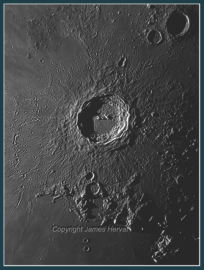 Photo of Moon crater Copernicus